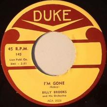 """ROSCO GORDON """"TUMMER TEE"""" / BILLY BROOKS """"I'M GONE"""" 7"""""""