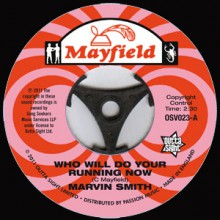 "Marvin Smith ""Who Will Do Your Running Now/ You're Really Something, Sadie"" 7"""