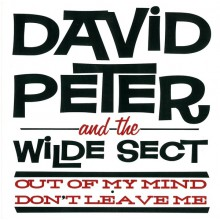 """DAVID PETER & THE WILDE SECT """"OUT OF MY MIND"""" 7"""""""