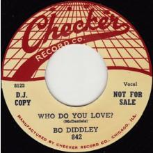 "BO DIDDLEY ""WHO DO YOU LOVE/MONA"" 7"""