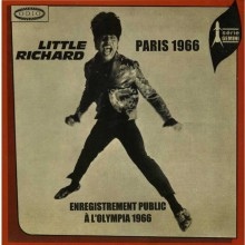 "LITTLE RICHARD ""PARIS 1966"" LP"