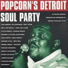 POPCORN'S DETROIT SOUL PARTY CD