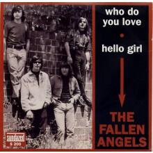 "FALLEN ANGELS ""WHO DO YOU LOVE/ HELLO GIRL"" 7"""