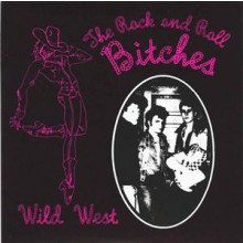 """ROCK'N'ROLL BITCHES """"Wild West EP"""" 7"""""""