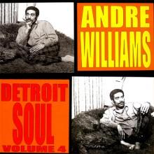 """ANDRE WILLIAMS """"DETROIT SOUL VOL 4"""" LP"""