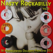 NASTY ROCKABILLY Volume 13 LP