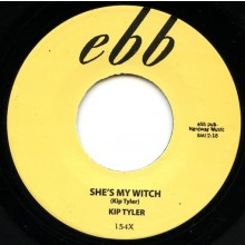 "KIP TYLER ""SHE'S MY WITCH / RUMBLE ROCK"" 7"""