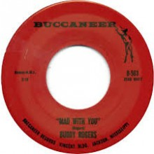 "BUDDY ROGERS ""MAD WITH YOU/TELL ME.."" 7"""