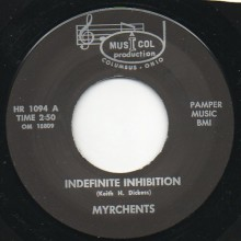 "MYRCHENTS ""INDEFINITE INHIBITION / ALL AROUND YOU"" 7"""