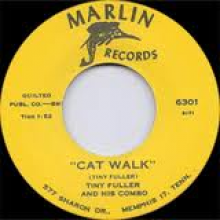 "TINY FULLER ""CAT WALK/ SHOCK"" 7"""