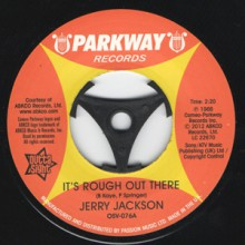 "Jerry Jackson ""It's Rough Out There/ I'm Gonna Paint A Picture"" 7"""