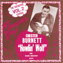 """HOWLIN WOLF """"MEMPHIS DAYS DEFINITIVE Volume TWO"""" cd"""