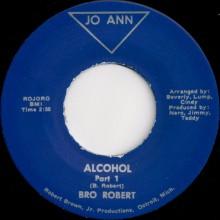 """BRO ROBERT """"ALCOHOL PARTS 1 & 2"""" 7"""""""
