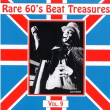 RARE 60S BEAT TREASURES VOLUME 9 CD