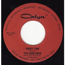 "NOBLEMEN ""SHORT TIME"" / OTHER HALF ""Girl With The Long Black Hair"" 7"""