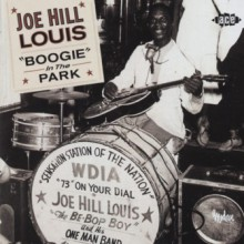 "JOE HILL LOUIS ""BOOGIE IN THE PARK"" CD"