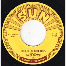 JAMES COTTON COTTON CROP BLUES/ HOLD ME IN YOUR ARMS