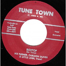 """IKE TURNER & LITTLE ANN """"BOXTOP / CHALYPSO LOVE CRY"""" 7"""""""