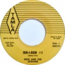 "NICK & THE JAGUARS ""ICHI BON #1 / COOL & CRAZY"" 7"""