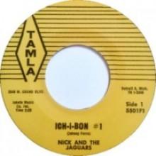 "NICK & THE JAGUARS ""ICHI BON #1 / COOL & CRAZY"" 7"""