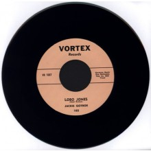 "JACKIE GOTROE ""Lobo Jones / Don't Treat Me This Way"" 7"""