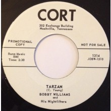 "BOBBY WILLIAMS ""TARZAN/IF DREAMS COME TRUE"" 7"""