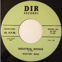 "DOCTOR ROSS ""INDUSTRIAL BOOGIE/Thirty Two Twenty"" 7"""