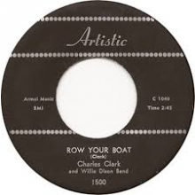 """CHARLES CLARK """"HIDDEN CHARMS/ROW YOUR BOAT"""" 7"""""""
