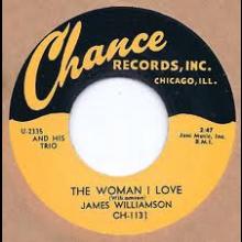 "JAMES WILLIAMSON ""THE WOMAN I LOVE/HOMESICK"" 7"""
