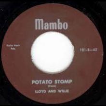 "LLOYD & WILLIE (EGAN) ""DON'T KNOW WHERE SHE WENT/Potato Stomp"" 7"""