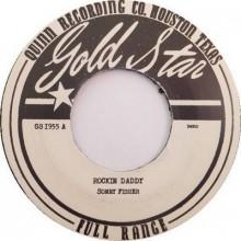"SONNY FISHER ""Rockin' Daddy (Demo version) b/w Hold Me Baby (Demo Version)"" 7"""