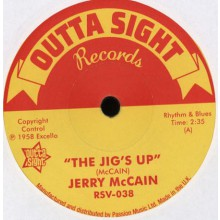 """JERRY McCAIN """"The Jig's Up/ Twist 62"""" 7"""""""