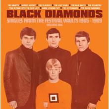 "BLACK DIAMONDS ""Singles From The Festival Vaults 1965-1969 Volume One"" 7"" BOX"