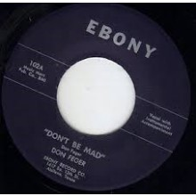 """Don Feger """"Don't Be Mad/Date On The Corner"""" 7"""""""