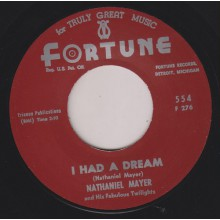 "NATHANIEL MAYER ""I HAD A DREAM/ I'M GONNA CRY"" 7"""