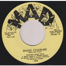 "MAD MAN JONES ""SNAKE CHARMER/ YEAH!"" 7"""