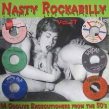NASTY ROCKABILLY Volume 17 LP