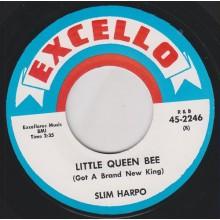 """SLIM HARPO """"LITTLE QUEEN BEE / I NEED MONEY"""" 7"""""""