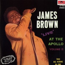 """JAMES BROWN & THE FAMOUS FLAMES """"LIVE AT THE APOLLO Volume 2"""" dbl-LP"""