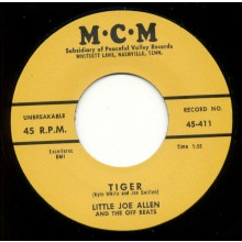 "LITTLE JOE ALLEN ""TIGER/ CAUSE I LOVE YOU"" 7"""