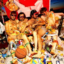 "NEW SWEARS ""JUNKFOOD FOREVER BEDTIME.."" LP"