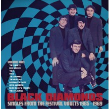 "BLACK DIAMONDS: Singles From The Festival Vaults 1965-1969 Volume TWO - 10x 7"" Box"
