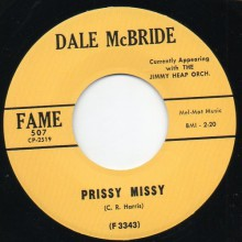 "DALE MC BRIDE ""Prissy Missy/ Class Beyond Compare"" 7"""