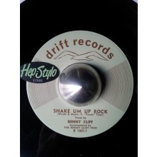 "Benny Cliff Trio ‎""Shake Em Up Rock/The Breaking Point"" 7"""