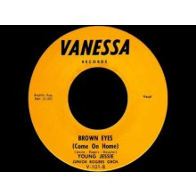 "YOUNG JESSIE ""MAKE ME FEEL A LITTLE GOOD / BROWN EYES"" 7"""