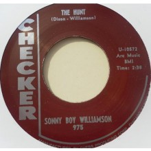 "SONNY BOY WILLIAMSON ""THE HUNT / LITTLE VILLAGE"" 7"""