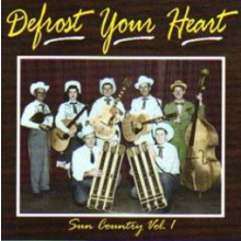 """SUN COUNTRY VOL. 1 """"DEFROST YOUR HEART"""" CD"""