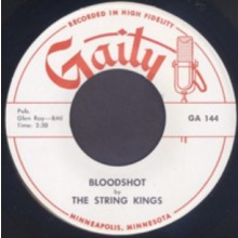 "STRING KINGS ""BLOODSHOT / THE BASH"" 7"""