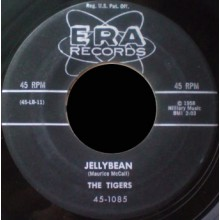 "TIGERS ""Jelly Bean / Don't Bye Bye Baby Me"" 7"""