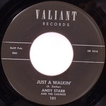 "ANDY STARR ""Just A Walkin'/ Cruel World"" 7"""